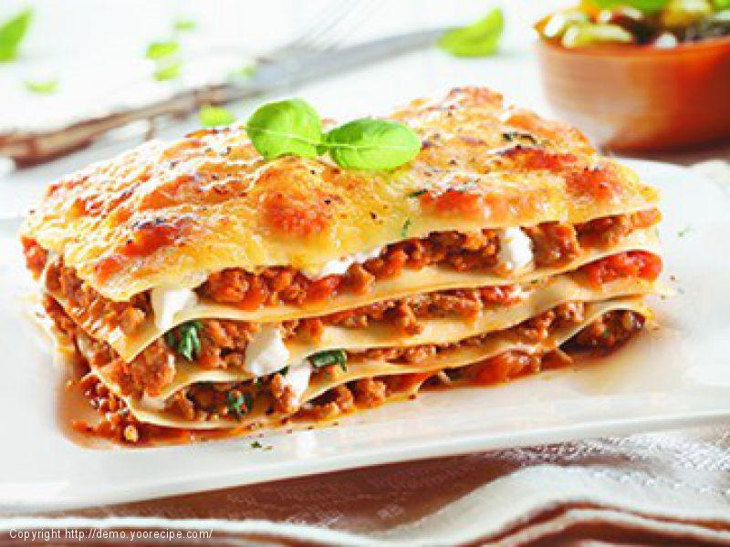 Traditioneel: Lasagne Bolognese