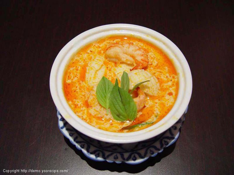Noix de Saint-Jacques au curry